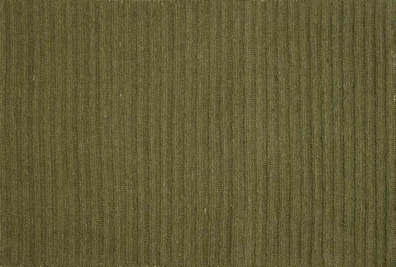 516 Ribbed; Green