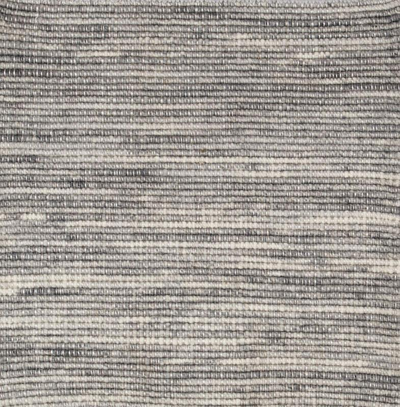 513 Felt Rows; Gray and White