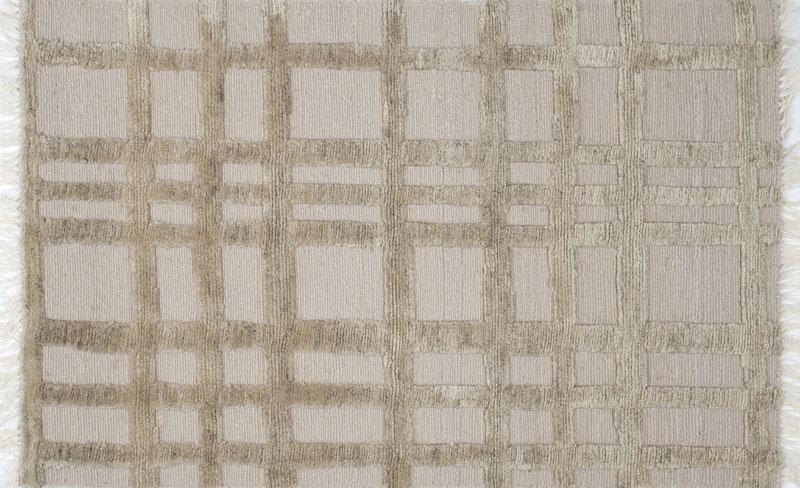 137 Grid; Sabbia, Heathered Sabbia