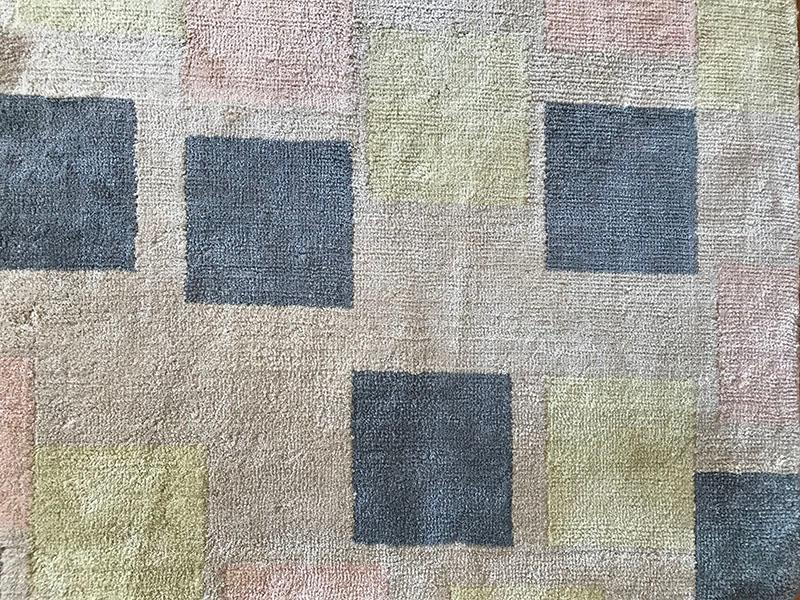 390 Scattered Squares; Cream, Pastels