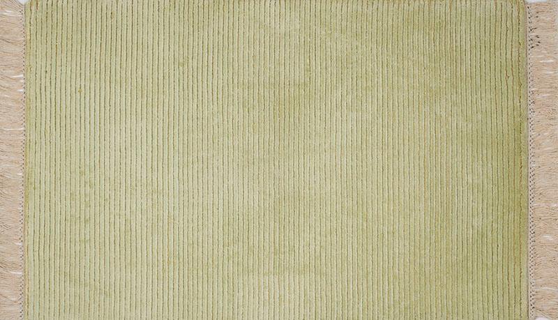 349 Silk Rows; Apple Green