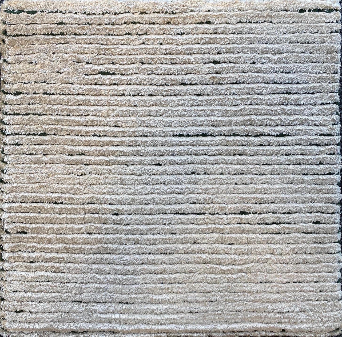 234 Silk Rows; Argento, Verde