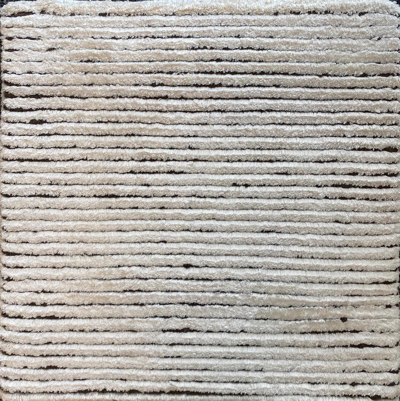 215 Silk Rows; Bianco, Cioccolato