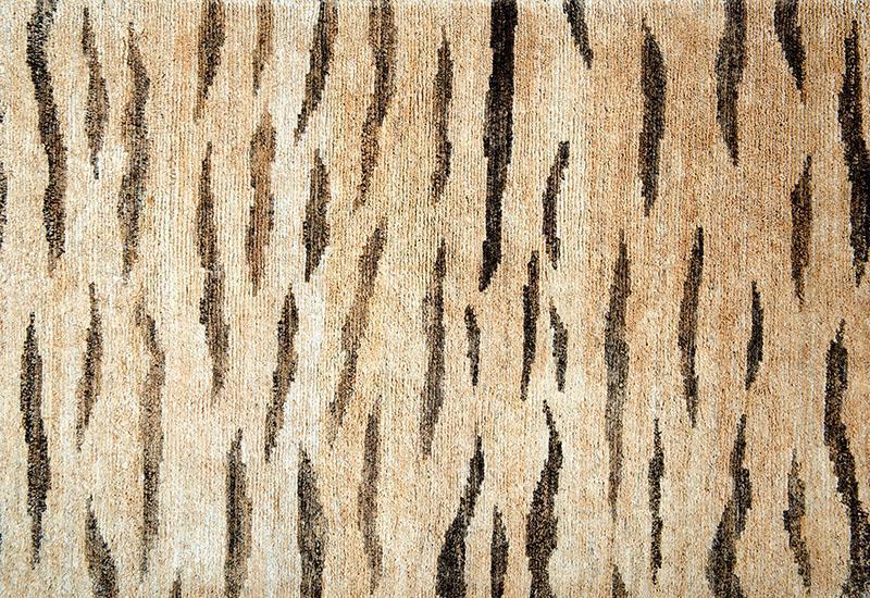 280 Hemp Tiger; Natural, Charcoal Dye