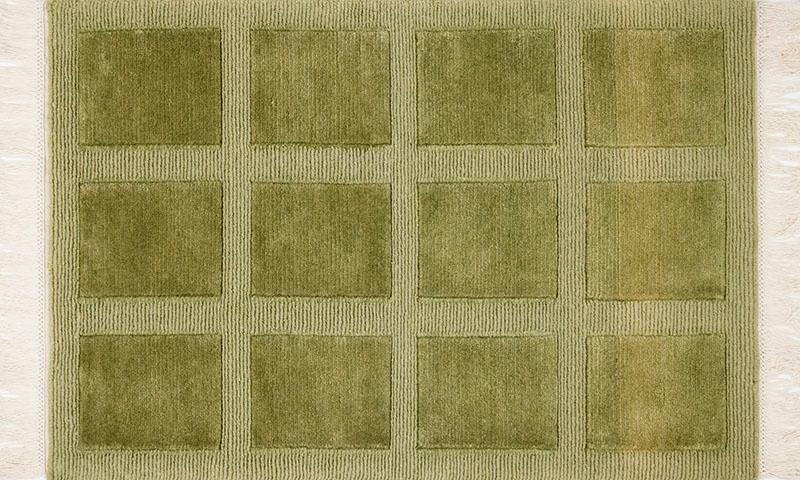 325 Squares; Rainforest Green