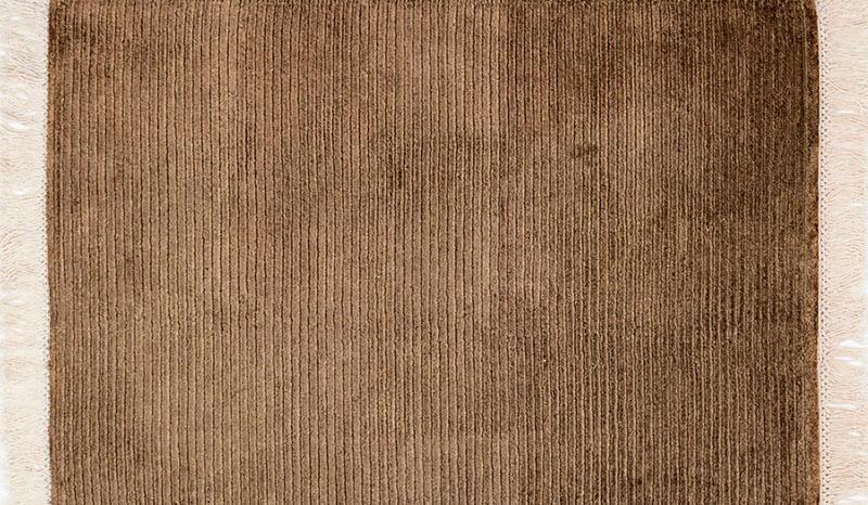 351 Silk Rows; Foliage Brown